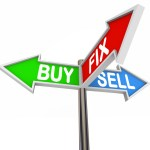 buy fix sell sign