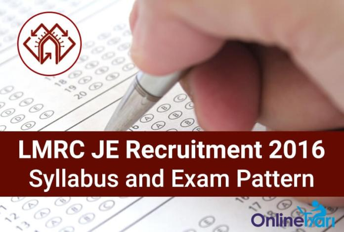 LMRC-Syllabus-Exam-Pattern-Junior-Engineer-(JE)