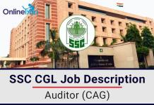 SSC CGL Tax Auditor CAG Job Profile, Salary, Pay Scale, Career