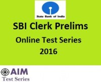 SBI Clerk Prelims Mock Test 2016 (3)
