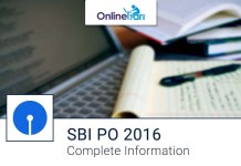 SBI PO 2016 Online Registration Open New Exam Pattern
