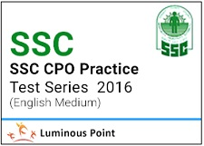 SSC CPO Mock Test Series 2016