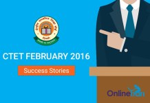 CTET Success Story February 2016