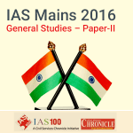 IAS (Mains) General Studies Paper II- Model Papers