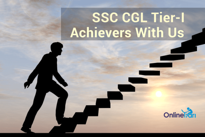 SSC CGL Tier 1 2016: Achievers With Us