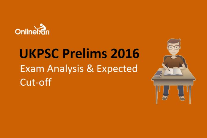 UKPSC Lower Subordinate Prelims Exam Analysis