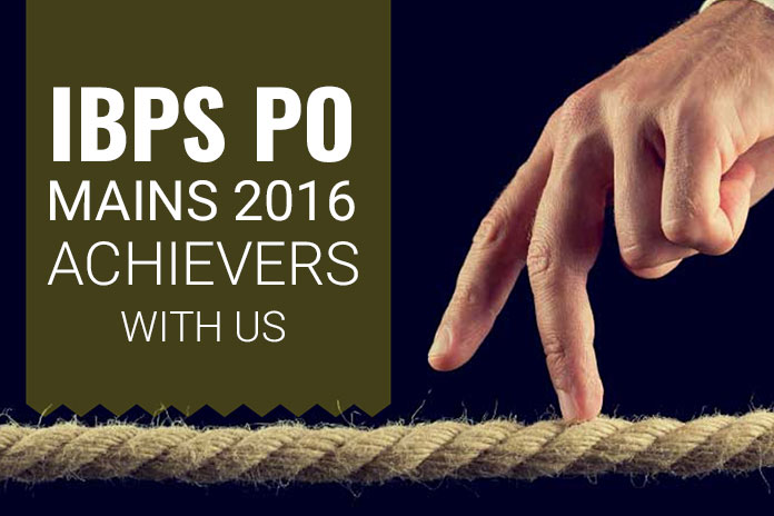 IBPS PO Mains 2016 Achievers