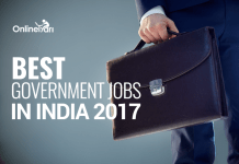 Best Government Jobs in India 2017: Check Now!