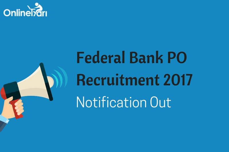 federal bank recruitment 2018-19 apply online