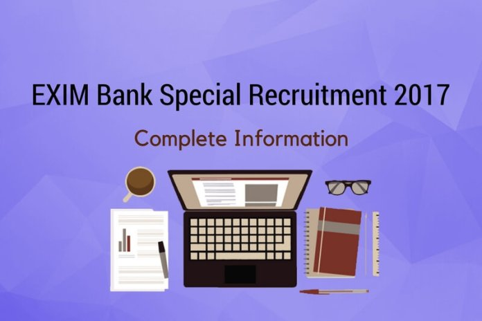 Export-Import Bank Special Recruitment Exam: Complete Information