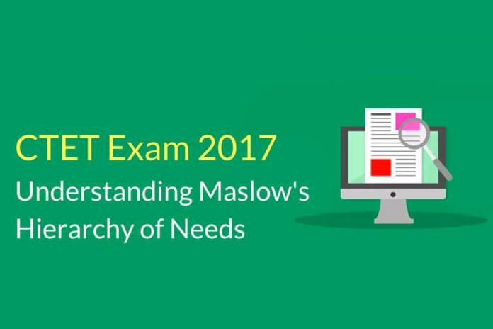CTET Exam 2017: Understanding Maslow's Hierarchy of Needs