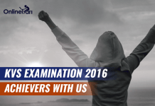 KVS Examination 2016: Achievers With Us