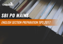 SBI PO Mains English Preparation Tips 2017