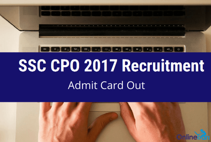 Download SSC CPO Admit Card