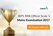 IBPS RRB Officer Scale 1 Mains Examination 2017: Achievers with Us