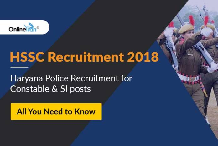 Haryana Police Recruitment for Constable and SI Posts 2018