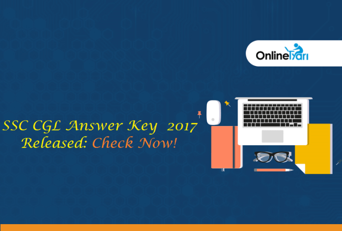 SSC CGL Tier 2 Answer Key 2017: Check Official Response Sheet