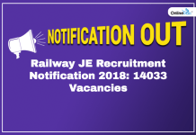 Railway JE Recruitment Notification 2018: Here is All You Need to Know!