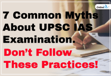 Blog-7 Common Myths About UPSC IAS Examination-dont follow these practices