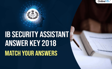 IB Security Assistant Answer Key 2018: Match Your Answers
