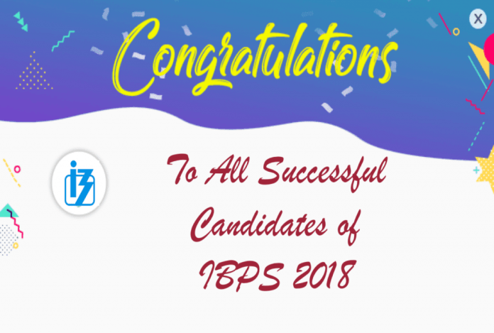 Congratulations to All IBPS Achievers 2018: Share Your Success Story
