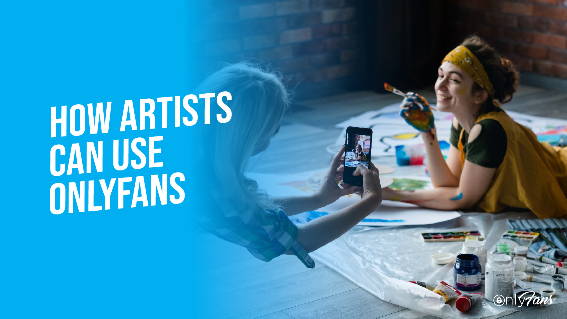how artists can use onlyfans