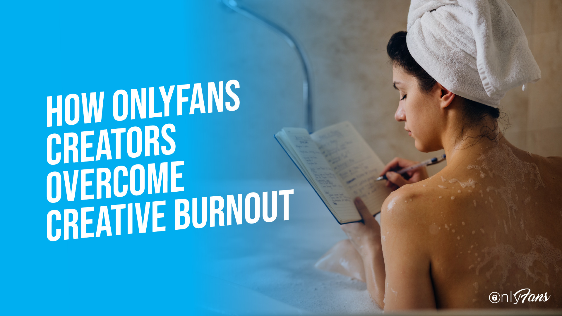 how onlyfans creators overcome creative burnout