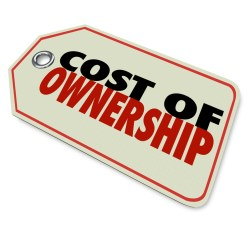 Cost of Ownership Price Tag Good Value Investment ROI