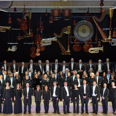 Das Frankfurter Opern- und Museumsorchester 2019, Foto: Barbara Aumüller