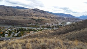 Lovely Ashcroft BC, a desert town that gets 8 inches of rain a year