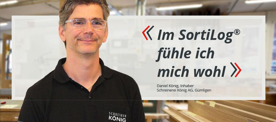 OPO-Kunden im Mittelpunkt: Schreinerei König AG