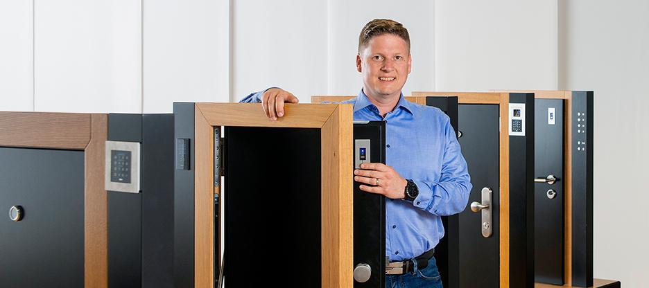 Volker Otterstätter, Fachexperte Türechnik, Leiter Türechnik-Kompetenzcenter