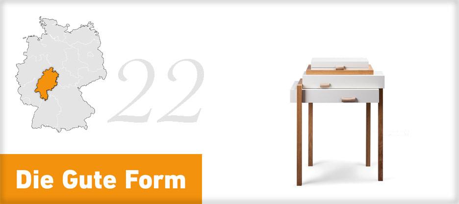 Die Gute Form 2013 – Jana Weber, Hessen