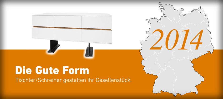 Nominationen des Landesverbandes Schleswig-Holstein für Die Gute Form 2014