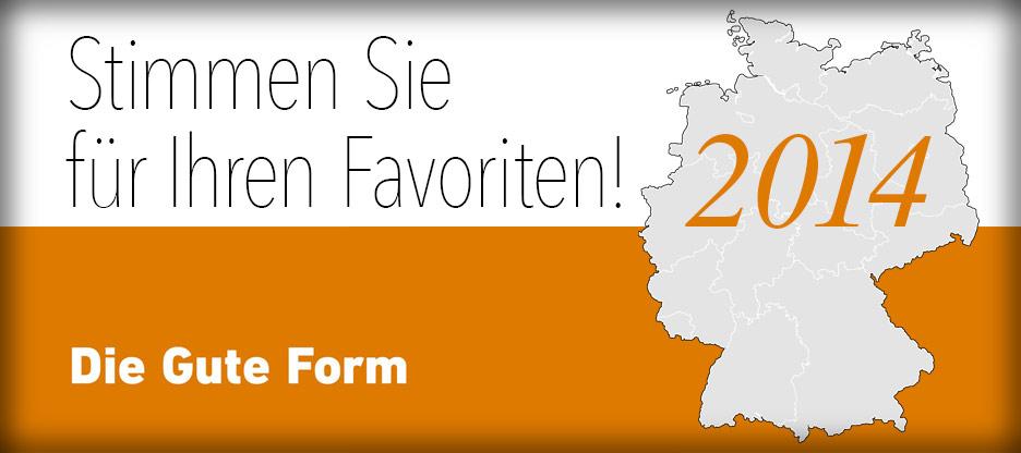Header Liste Die Gute Form 2014