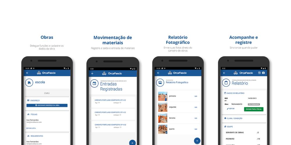 App de Diário de Obras