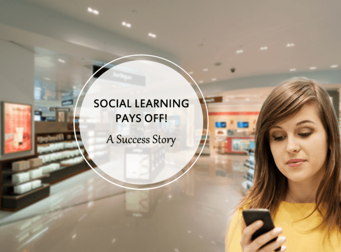 Social Learning Case Study for luxury retail