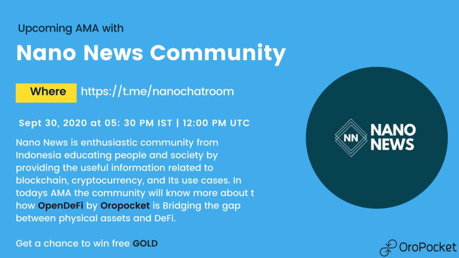 NanoNews AMA