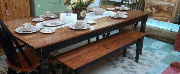 Husky Farm Dining Table Leg & Farm Coffee Table Legs