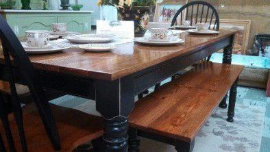 Husky Farm Dining Table Leg & Farm Coffee Table Legs