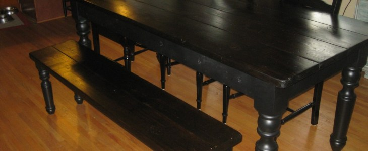 "Portsmouth Dining Table Leg (29"" x 4"") & Portsmouth Coffee Table Leg"