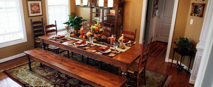 English Country Dining Table Leg & English Country Coffee Table Leg