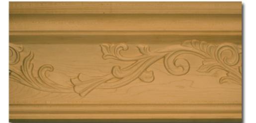 The Carved Vine Crown Molding (part number 74661.96)