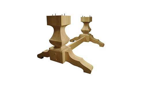 Old World Double Pedestal Kit
