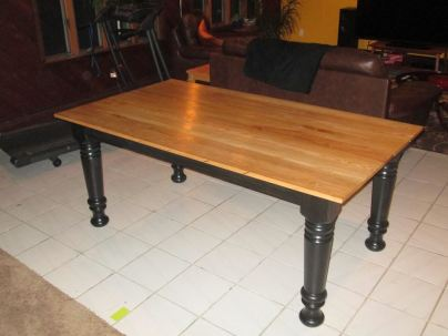 Farm Table Features Osborne Farm Dining Table Leg