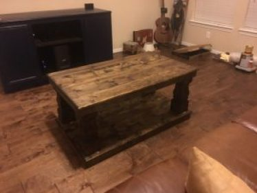 Square Heritage Coffee Table Leg