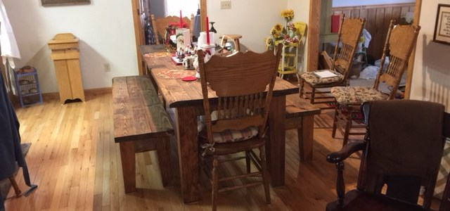 Custom Tapered Dining & Bench Legs: A Perfect Fit