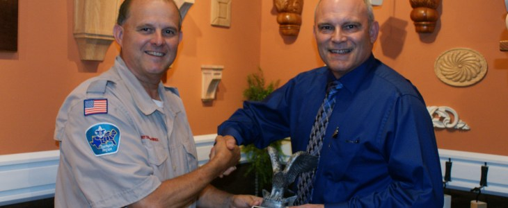 Osborne Wood Products Receives Eagle Club Member Award