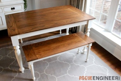 English Country Dining Table Leg and Eaton Chair Leg