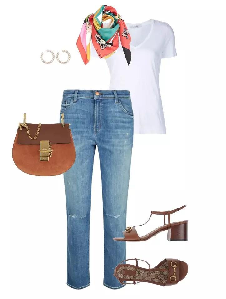 combinacao jeans com sadalia